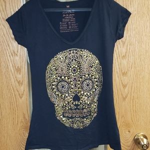 Ay Guey skull shirt
